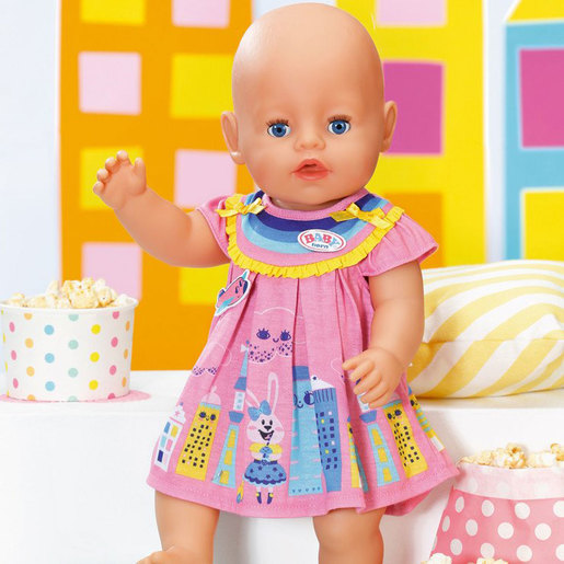 BABY Born 43cm Doll Dress - Pink