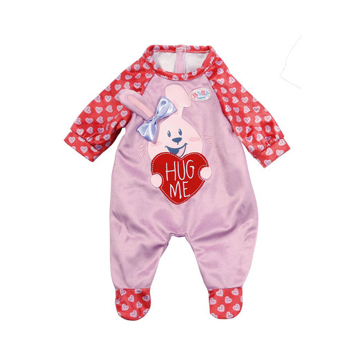 BABY Born Romper For 43cm Doll - Pink