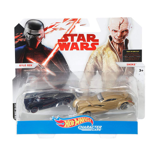 Hot Wheels Star Wars Character Cars - Kylo Ren and Snoke