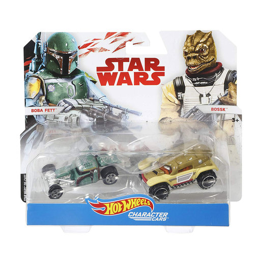 Hot Wheels Star Wars Character Cars - Boba Fett and Bossk from TheToyShop