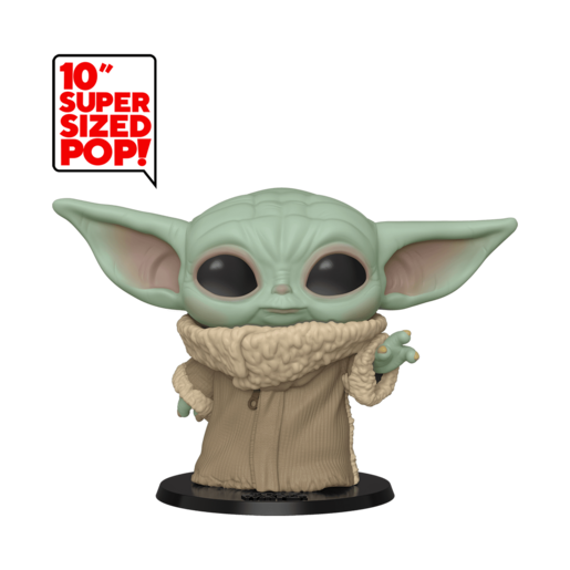 "Funko Pop! Star Wars: The Mandalorian - Super Sized 25cm Baby Yoda ""The Child"""