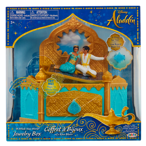 Disney Aladdin Musical Jewellery Box