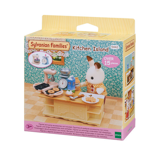 Sylvanian Families Kitchen Island Playset