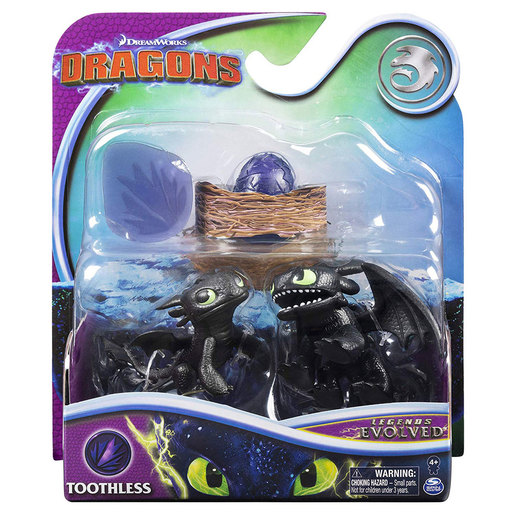 DreamWorks Dragons Legends Evolved Mini Figures - Stormfly