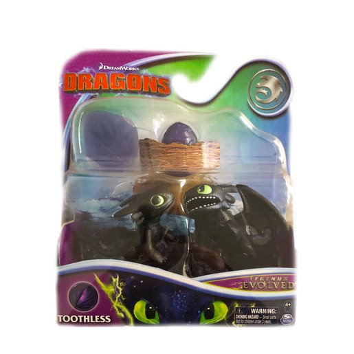 DreamWorks Dragons Legends Evolved Mini Figures - Toothless