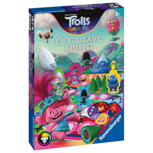 Ravensburger DreamWorks Trolls World Tour Let's Save Music! Game