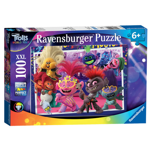 Ravensburger DreamWorks Trolls World Tour XXL Puzzle - 100pcs.