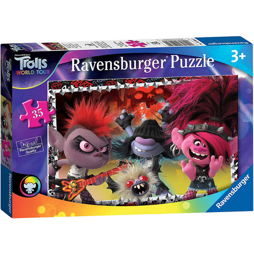 Ravensburger DreamWorks Trolls World Tour Puzzle - 35pcs.