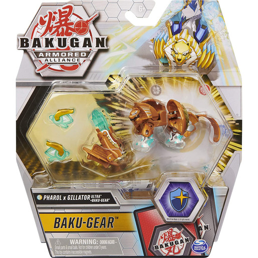 Bakugan Armored Alliance Baku-Gear – Pharol x Gillator Ultra