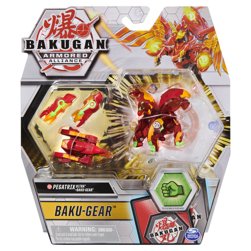 Bakugan Armoured Alliance Baku-Gear - Pegatrix Ultra (Red)