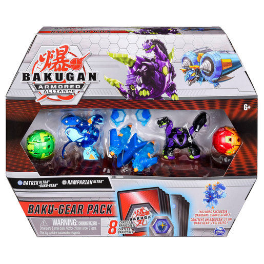 Bakugan Armoured Alliance Baku-Gear Pack - Batrix and Ramparian from TheToyShop