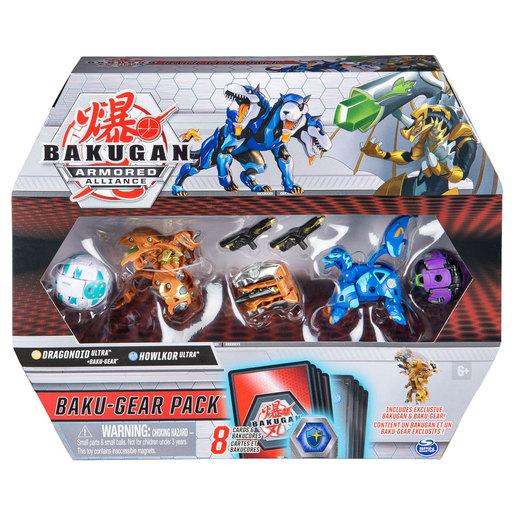 Bakugan Armoured Alliance Baku-Gear Pack - Dragonoid and Howlkor from TheToyShop