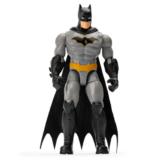 DC Comics The Caped Crusader 10cm Figure with 3 Mystery Accessories - The Rebirth Batman