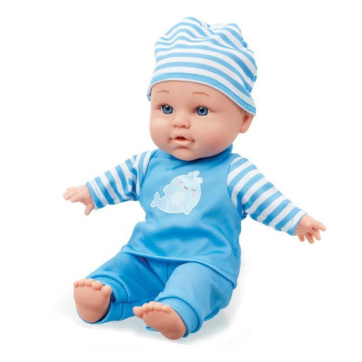 Be My Baby Cuddly Baby - Blue Outfit