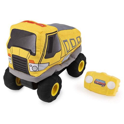 Plush Power Remote Control Plush Dump Truck