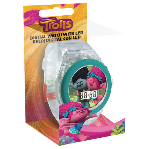 DreamWorks Trolls Digital LED Watch