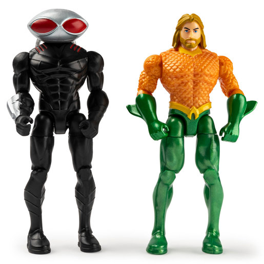 DC Comics 10cm Figures - Aquaman and Black Manta