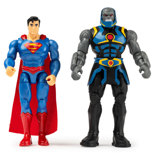 DC Comics 10cm Figures - Superman and Darkseid