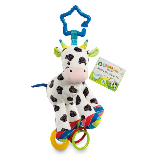 Blossom Farm Martha Moo Travel Toy