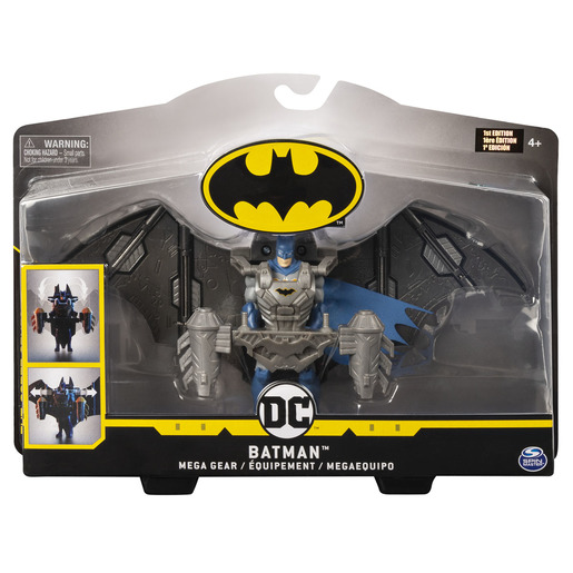DC Comics Batman 10cm Deluxe Mega Gear Figure - Batman