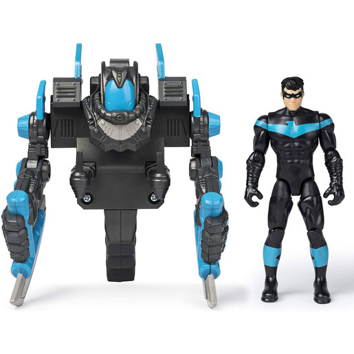 DC Comics Batman 10cm Deluxe Mega Gear Figure - Nightwing