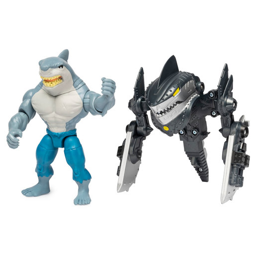 DC Comics Batman 10cm Deluxe Mega Gear Figure - King Shark