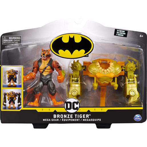 DC Comics Batman 10cm Deluxe Mega Gear Figure - Bronze Tiger