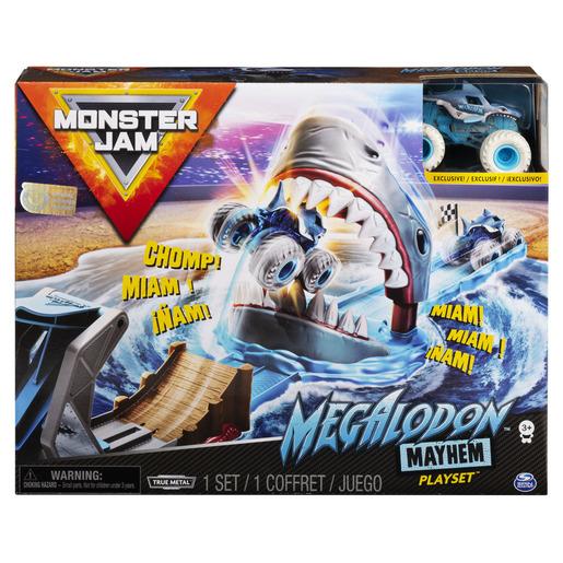 Monster Jam 1:64 Megalodon Mayhem Playset from TheToyShop