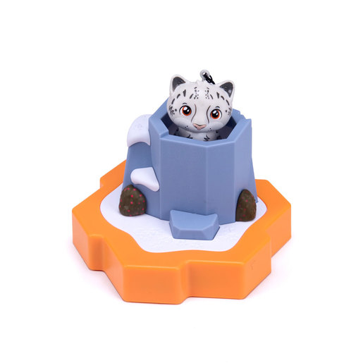 HEXBUG Lil' Nature Babies Small Figure - Snow Leopard