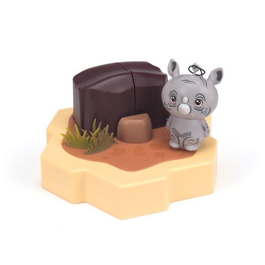 HEXBUG Lil' Nature Babies Small Figure - Rhino