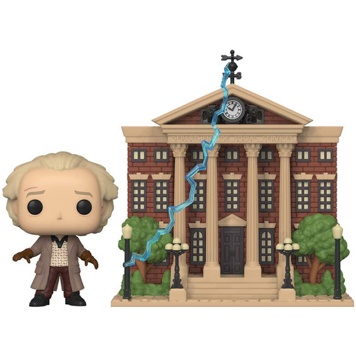 Funko Pop! Movies: Back To The Future - Doc With Clock Tower
