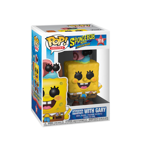 Funko Pop! Animation: SpongeBob SquarePants The Movie - Camping SpongeBob and Gary