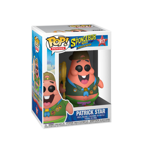 Funko Pop! Animation: SpongeBob SquarePants The Movie - Camping Patrick Star