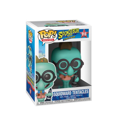 Funko Pop! Animation: SpongeBob SquarePants The Movie - Camping Squidward Tentacles