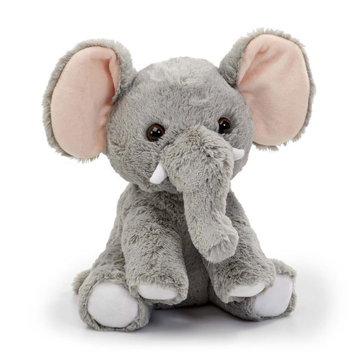 Snuggle Buddies Endangered Animals Plush Toy - Elephant