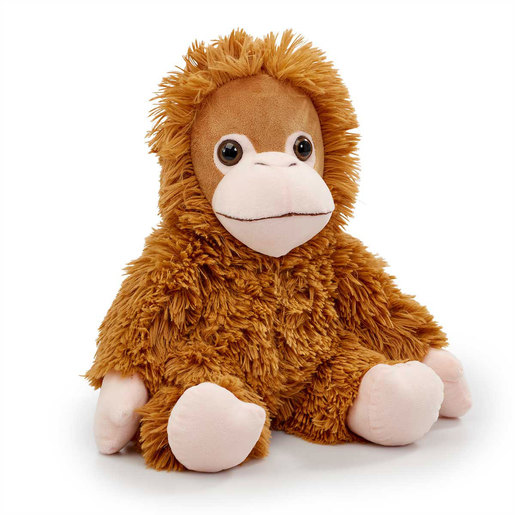 Snuggle Buddies 34cm Endangered Animals Plush Toy - Orangutan