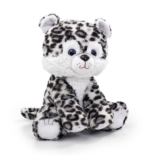 Snuggle Buddies Endangered Animals Plush Toy - Snow Leopard