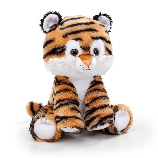 Snuggle Buddies 32cm Endangered Animals Plush Toy - Tiger