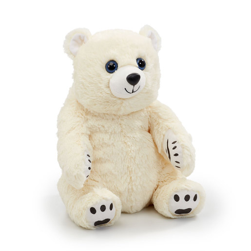 Snuggle Buddies Endangered Animals Plush Toy - Polar Bear