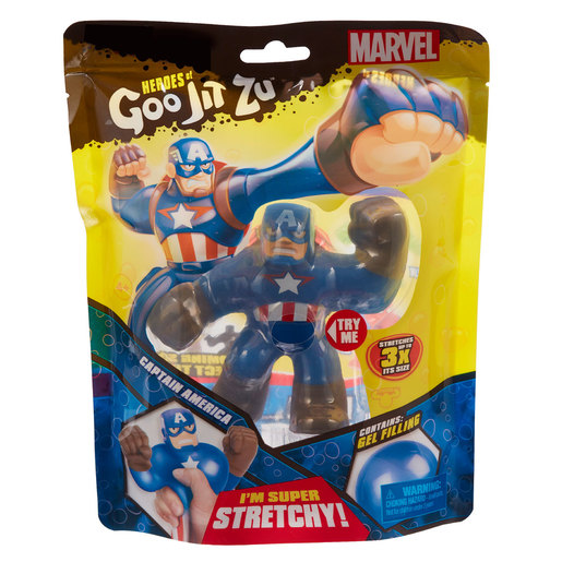 Heroes of Goo Jit Zu Marvel Superheroes - Captain America