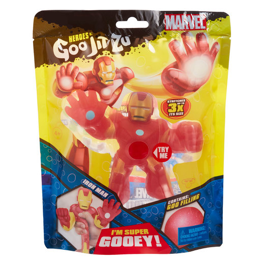 Heroes of Goo Jit Zu Marvel Superheroes - Iron Man