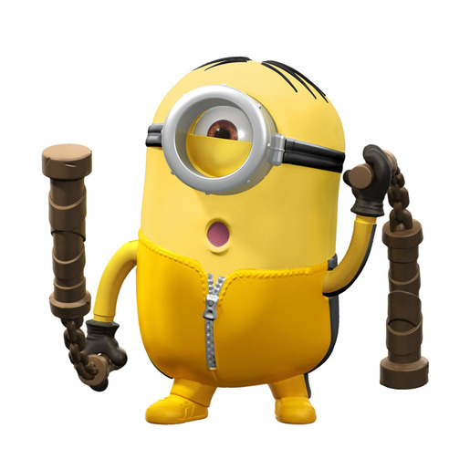 Minions: The Rise of Gru Button Activated Nunchuk Swinging Stuart