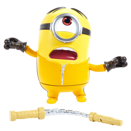 Minions: The Rise Of Gru Mighty Stuart With Kung Fu Figure