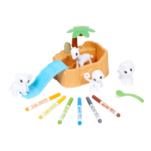 Crayola Washimals Safari Playset