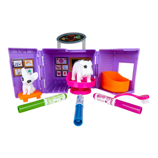 Crayola Washimals Tattoo Shop Playset
