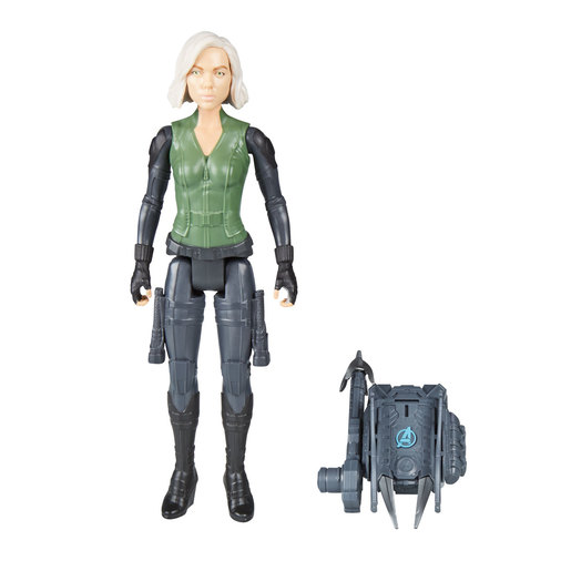 Marvel Avengers Infinity War Titan Hero Power FX Figure - Black Widow