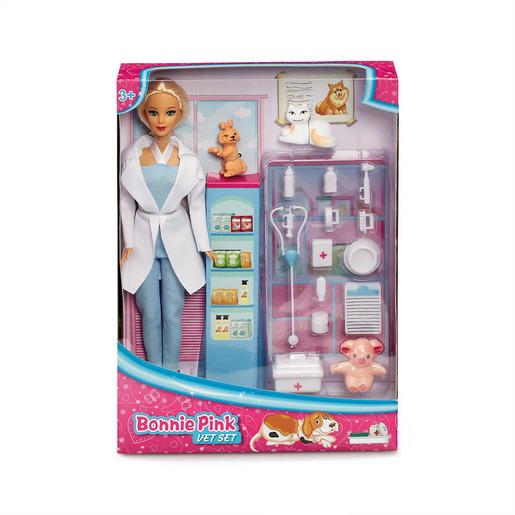 Bonnie Pink - Vet Set Doll Playset