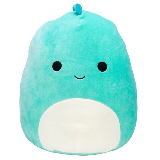Squishmallows 30cm Super Soft Toy - Ben the Blue Dinosaur