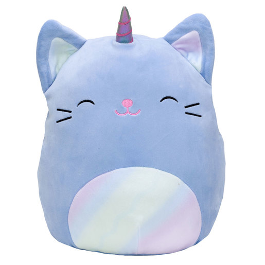 Squishmallows 30cm Super Soft Toy - Courtney the Purple Caticorn