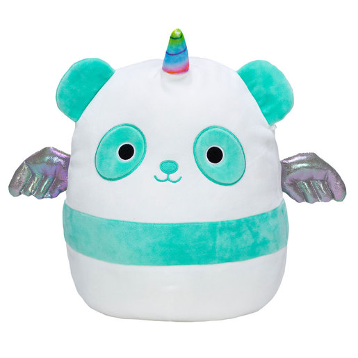 Squishmallows 30cm Super Soft Toy - Felicia the Teal Panda-Corn